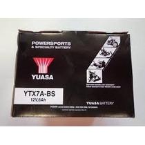 Bateria Yuasa Ytx7a-bs La Mejor!!! Moto Delta