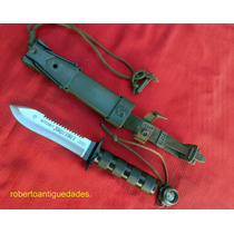 Antiguo Cuchillo Aitor Jungle King 2 Español Sable