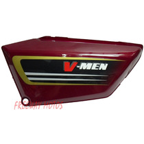 Cacha Lateral Izq Honda V Men 125 Bordo Orig Freeway Motos