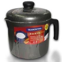 Jarro Con Tapa Tramontina 1.6l Teflon Antiadherente Lechera