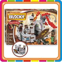 Blocky Castillo De Dragones Bloques Para Armar Mundo Manias