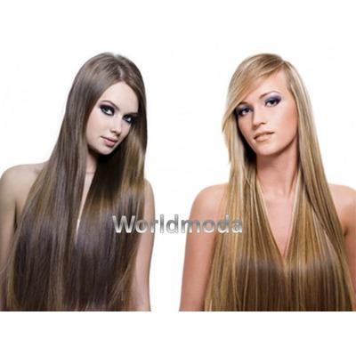 Los cabellos caen con la punta blanca de la foto