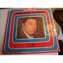 Lp Atahualpa Yupanqui Retrato Vinilo Impecable Argentino