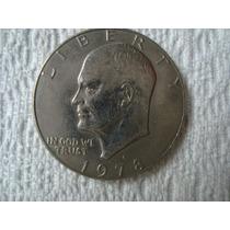 Moneda De 1 Dolar Año 1978
