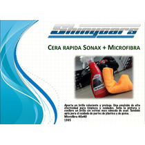 Sonax High Speed Wax + Microfibra 40cmx40cm