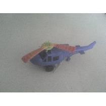 Helicoptero A Cuerda .de Plastico Retro De 1978
