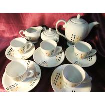 El Arcon Juego Cafe 8 Piezas Porcelana Made In Japan 14003