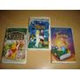 Thumbelina Swan Princess Winnieh Pooh Vhs Animacion Disney