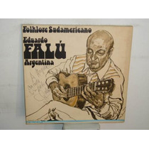 Eduardo Falu Folklore Sudamericano Vinilo Aleman Firmado