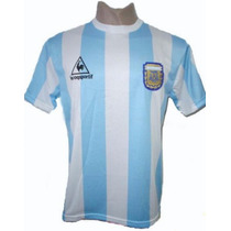 Camiseta Retro Afa 86 Titular Original En Tucuman
