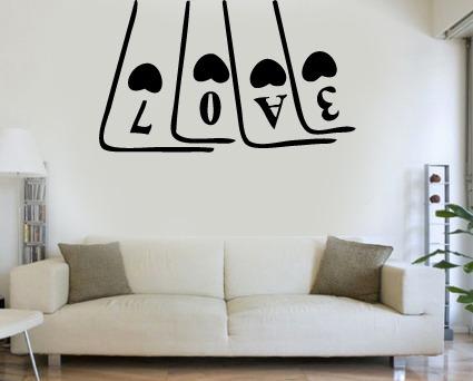 Vinilos decora tus paredes frases citas canciones - Vinilos pared musica ...