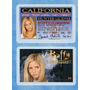 Buffy Vampire Slayer Novedad Usa Driver License Memorabilia