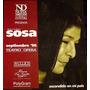 Programa Mercedes Sosa Teatro Opera 1996
