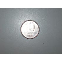 Moneda Antigua Argentina 10 Centavos 1983