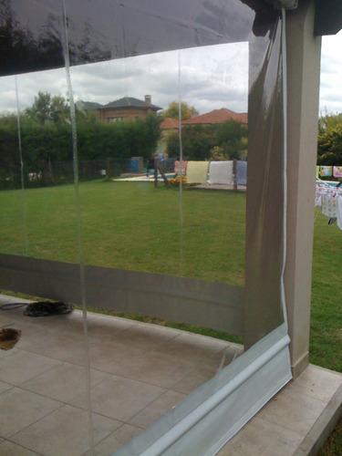 Cerramiento galeria de cristal enrollable toldos a ars - Cerramiento de galerias ...