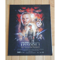 Poster Original Star Wars - La Amenaza Fantasma - Episodio I
