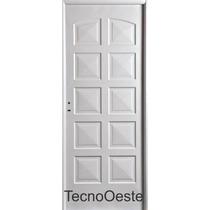 Puerta Doble Chapa Nexo Inyectada Nexo 10 Tableros 80x200