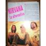 Clipping Nirvana - 4 Recortes (235) Kurt Cobain - Grunge