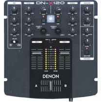 Mixer Consola Mezcladora Denon Dn X-120 2 Canales 1 Mic