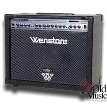 Amplificador De Guitarra Wenstone Ge-650 65w Parlantes Usa