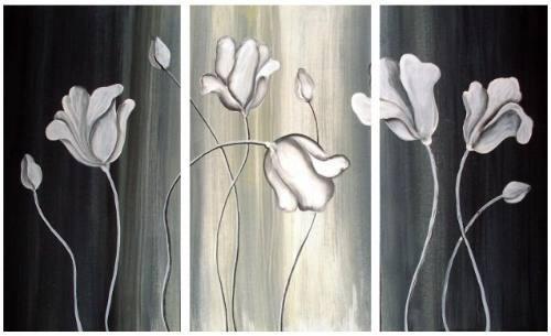 Cuadros dipticos tripticos en blanco y negro cuadros a - Cuadros modernos blanco y negro ...