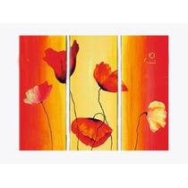 Pinturas Cuadros De Flores, Pintados A Mano Super Oferta!