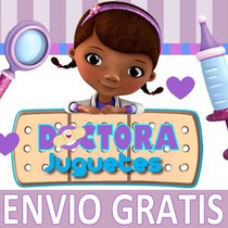 Kit Imprimible Doctora Juguetes Candy Bar Golosinas