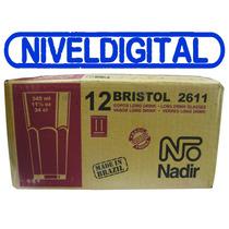12 Vasos Vidrio 340 Ml Agua Refresco Bristol Nadir 2611 Caja