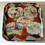 Antiguo Plato De Porcelana Ceramica Oriental Chino / Japon
