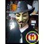 Anonymous Disfraz Completo! Capa, Mask Y Sombrero, Vendetta
