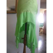 Fadma Pollera De Diseño Talle S Verde Ultima Moda Mirala