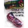 Cable Bipolar Para Paralante De Auto X 10 Mts.