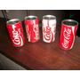 Cuatro Latas De Coca Cola Diferentes