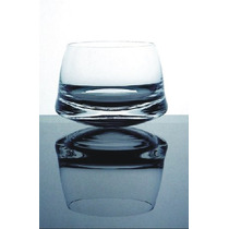 Vaso De Whisky Mareado Cristal. Diseño Original Y Exclusivo.