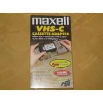 Adaptador De Cassette Vhs-c A Vhs - Mejor Precio X Cantidad