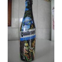 Botella De Cerveza Quilmes Edicion Musica Reggal Llena