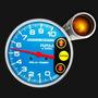 Tacómetro Competicion 12v Nafta 832p100 C/corte Orlan Rober