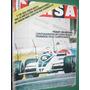 Revista Corsa 722 Ascari Reutemann F1 Gp Usa Piquet Brabham