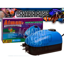 Aireador Atman Hp 5000 - 4 Salidas - Envios - Acuario Oasis