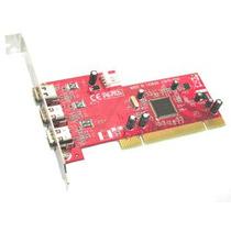 Adaptador Pci 3 Ports Ieee1394a Firewire Chipset Texas Instr
