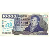 5 Billetes 10000 Pesos Argentinos Resellados Diferent Oferta