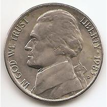 Moneda Estados Unidos De 5 Cents.five Cents Año1983 D
