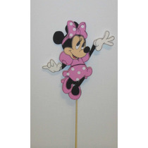 Mickey-minnie-goofy-donald-daisy... Centro De Torta Goma Eva