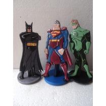 Batman Y Super Heroes,figuras Planas Para Tu Torta!!