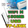 Adaptador Usb Wifi N Tplink Tl-wn722n Wireless N/g/b 150mbps