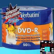 Dvd Verbatim Printable 0 Aro X 100 (capital Envio Gratis )