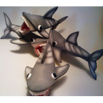 Titeres En Goma Espuma: Tiburones Ventas X Mayor Y Menor