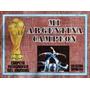 Mi Argentina Campeon Carpeta Futbol Mundial 78 Fifa!!