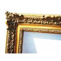 Historical*- Marco Para Obra O Espejo-restaurado-84x62-envio