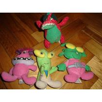 Muñecos Monstruos Aliens Dinosaurio Peluches De Mc Donald